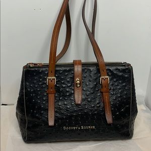 Dooney and Bourke ostrich collection Barlow bag